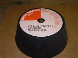 Image Flared Cup Grinding Wheel, 20 cases (160 wheels) 333005