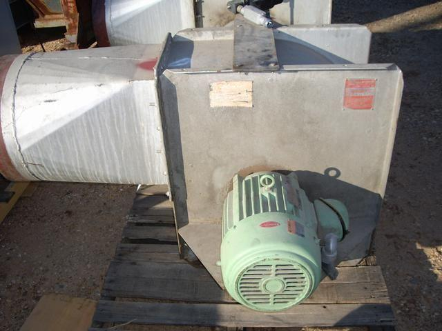 10 Hp Chicago Size 15 Blowe 119163 For Sale Used