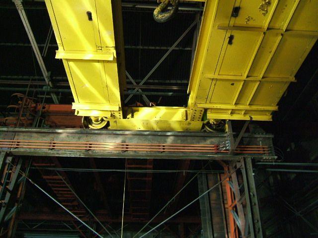 P&H 25/5 Ton Bridge Crane - Hot Metal Rated