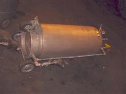 Image 15 Gallon ALLOY PRODUCTS 316 Stainless Pressure Tank 333223