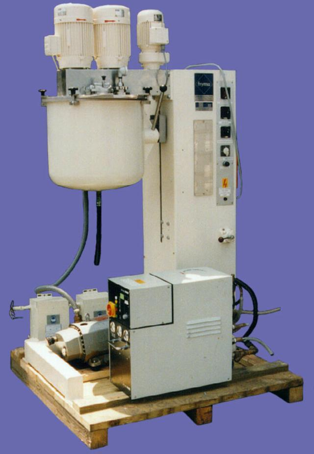 FRYMA Model VME-50 Processing Plant
