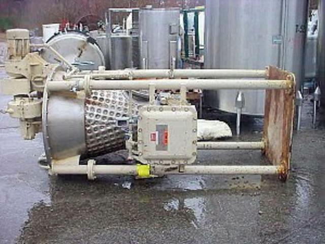 3.5 CF LITTLEFORD Model 35 Nauta Mixer, 3 HP, Vacuum Rated