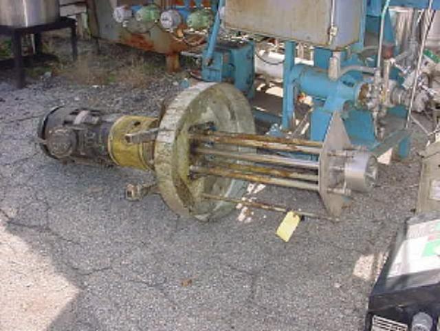 15 HP Rotor Stator Homogenizer Mixer