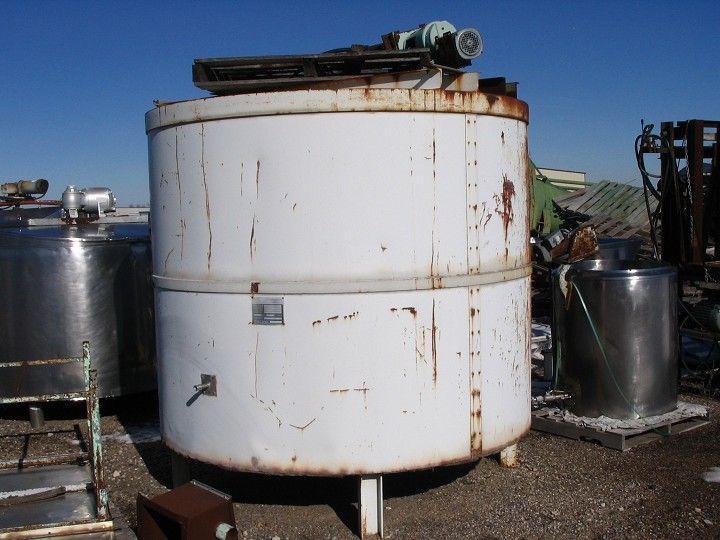 Image 650 Gallon PYRADIA SS Natural Gas Jacketed Tank 334016