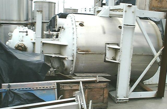 900 Gal BLAW-KNOX Jacketed Mixer/Tank, 15/30 HP