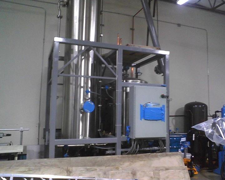 SOLVENT RECOVERY SYSTEM Air Scrubber