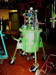 Image 50 Gallon PFAUDLER Glass Lined Pressure Tank Vacuum - 25 PSI 334393