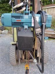 Image DEMAG Model DKUN5-500KV1F4 Hoist, Cap.1000 lbs 334486