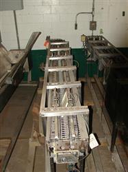"Image SHUTTLEWORTH SS Roller Conveyor 9""x136"" 334640"