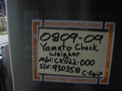 Image YAMATO Model CK02L-000 (CE301) Checkweigher 943193