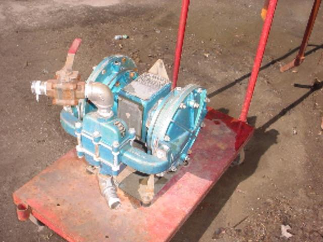 "1"" WARREN RUPP 316 S/S Diaphragm Pump"