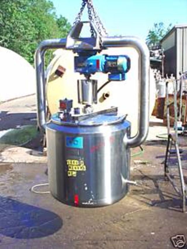 Image 40 Gallon DCI, INC. Stainless Steel Tank with Mixer 334868