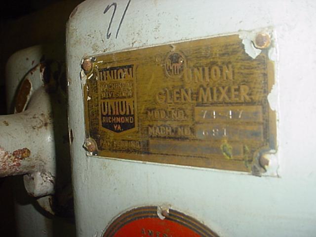 Image 140 Qt AMF 74-47 Dough Mixer 334889
