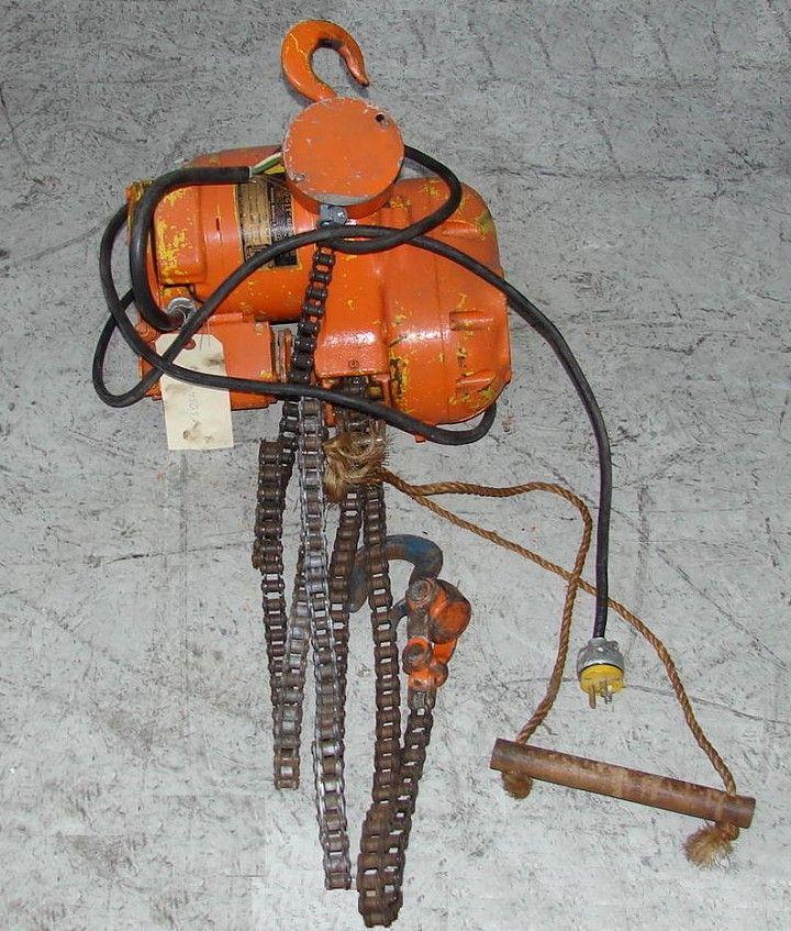 1/4 Ton BUDGIT Electric Chain Hoist