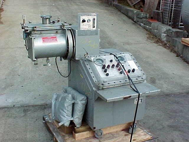 PURNELL Stainless Steel Sanitary Plow Mixer