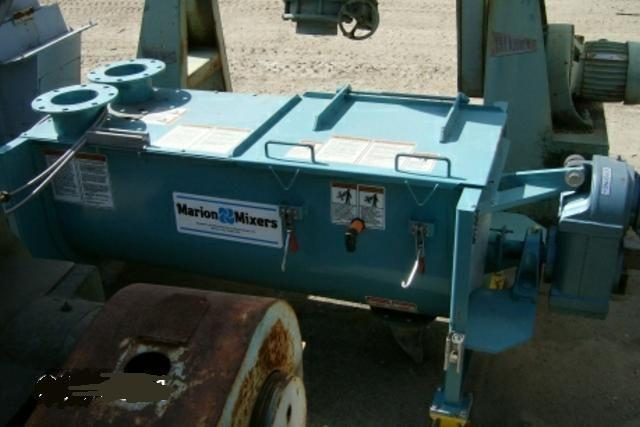 7.2 CuFt MARION CPC-1854 Continous Paddle Mixer