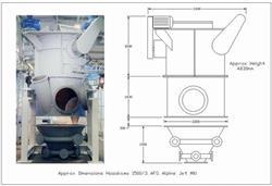 Image HOSOKAWA Alpine 1500AFG Jet Mill 335390