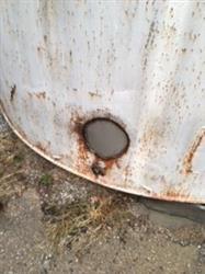 Image 13,800 Gal Vertical SS Clad Flat Bottom Tank 890566