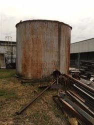 Image 13,800 Gal Vertical SS Clad Flat Bottom Tank 890567