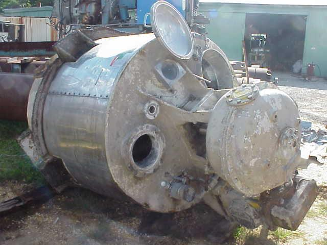 500 Gal 316 S/S Double Motion Jacketed Kettle