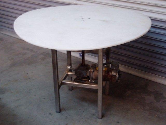 "42"" Rotary Table Stainless Steel Base"