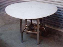 "121161 - 42"" Rotary Table Stainless Steel Base"