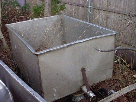 165 Gallon Stainless Steel Tank Tote