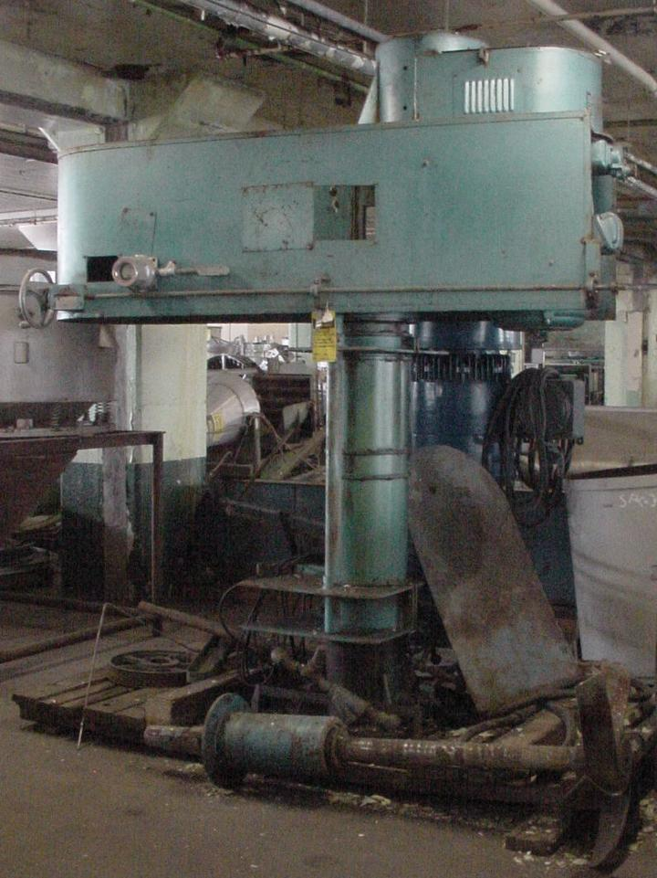 30 HP HOCKMEYER Mixer Disperser