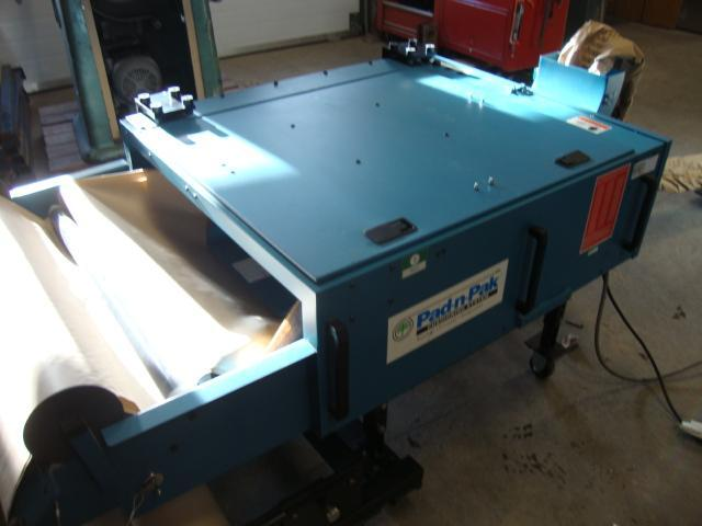 PAD-N-PAK Machinery For Packaging Protector