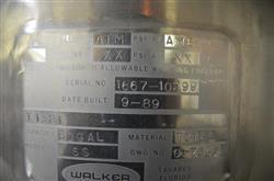 Image 60 Gallon WALTER Model S3 Pressurized Tank 335984