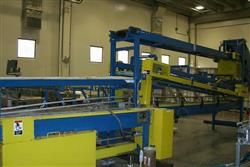 Image Bottle De-Palletizer, Case Unloader w/Multi-Lane Conveyor 336001
