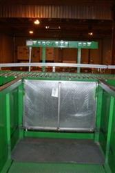 Image Bottle De-Palletizer, Case Unloader w/Multi-Lane Conveyor 336003