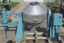 Image PAUL O. ABBE S/S Rotary Double Cone Vacuum Dryer 336117