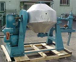 Image PAUL O. ABBE S/S Rotary Double Cone Vacuum Dryer 336118