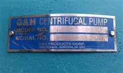 "Image 5 HP G&H 2"" x 2.5"" SS Centrifugal Pump NEW 1996 336302"