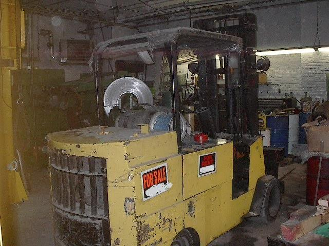 ALLIS CHALMERS Propane Forklift, Cap. 14,000 lbs