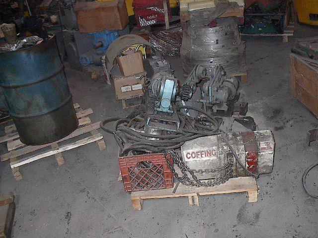 2 Ton DUFF NORTON Hoist w/ Track Motors