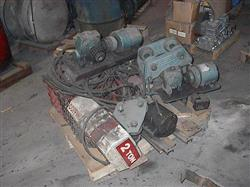 Image 2 Ton DUFF NORTON Hoist w/ Track Motors 336342