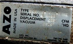 Image 117 cfm AZO Model RC0160 Vacuum Pump 336364
