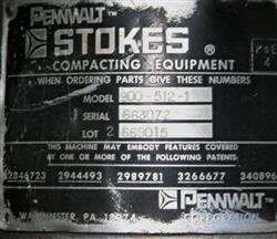 Image 16 Station STOKES B2 Rotary Tablet Press 4 Ton 336402