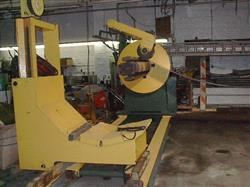 "Image 72"" BRADBURY Uncoiler with Cart, Cap. 20,000 lbs 336528"