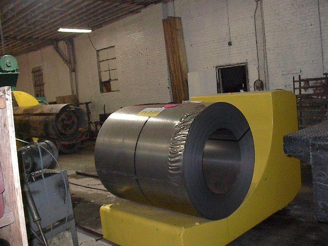 Coil Cart, Cap. 40,000 lb