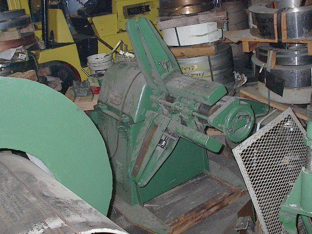 "18"" COOPER WEYMOUTH Uncoiler, Cap. 5000 lbs"