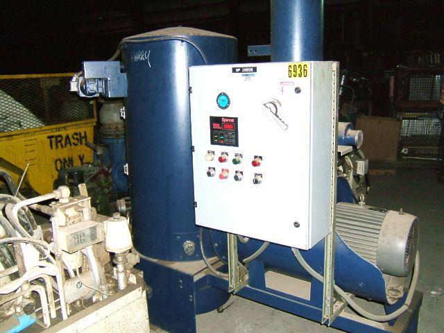 20 HP SPENCER IndustraVac Dust Collector