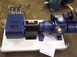 122522 - 3 HP FUJI Super Chemical Metering Pump, 2100-PSI, 132 M/L min