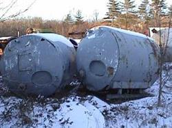 Image 1250 Gal S/S Horizontal Tank w/ Dished Ends 336904