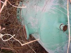 Image 250 Gallon MOHAWK MFG Carbon Steel Tank 336936