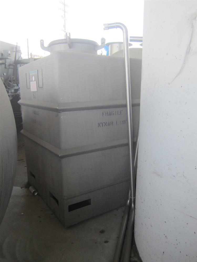 Image 520 Gallon MUELLER PORTA Stainless Steel Tank 976956