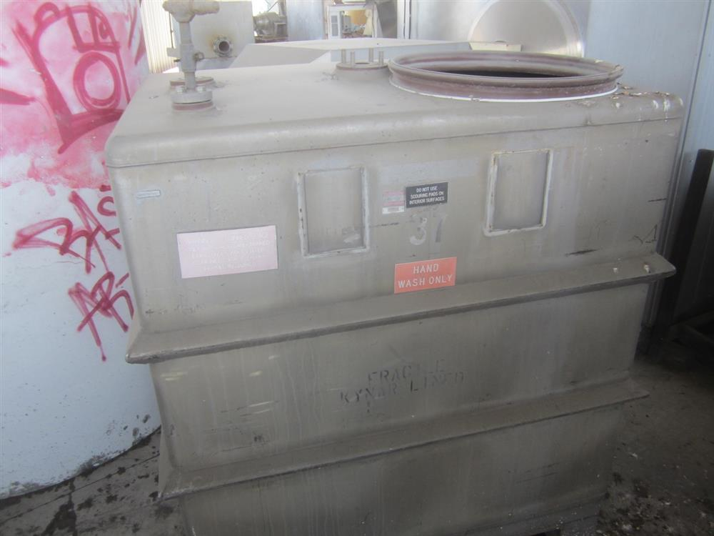 Image 520 Gallon MUELLER PORTA Stainless Steel Tank 976962