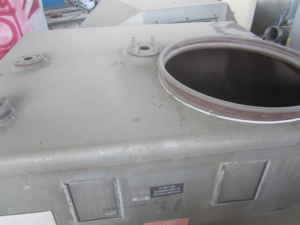Image 520 Gallon MUELLER PORTA Stainless Steel Tank 976963